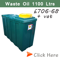 Waste Oil Tank 1100 Litres
